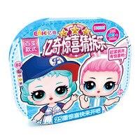 New EAKI Fashion doll original poupee lol toys for girl gift DIY lol dolls original boneca lols toys