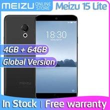 Meizu 15 Lite, 4 Гб, 32 ГБ, 64 ГБ, глобальная версия, M871H, Смартфон Snapdragon 626, четыре ядра, 5,46 дюймов, 1920x1080 P, M15