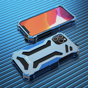 Image 5 - Aluminum Metal Case for iPhone 11 Pro Max Luxury Gundam Shockproof Cover Case for iPhone 8 7 Plus 6s 5s Se X Xs Max Xr Case