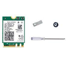 OOTDTY с Wi-Fi в 6 ax200 или 802.11 топор 2.4 Г/5 ГГц двухдиапазонный МУ-MIMO и беспроводной доступ в интернет беспроводная сеть сеть карта Bluetooth для беспроводной карты 5.0