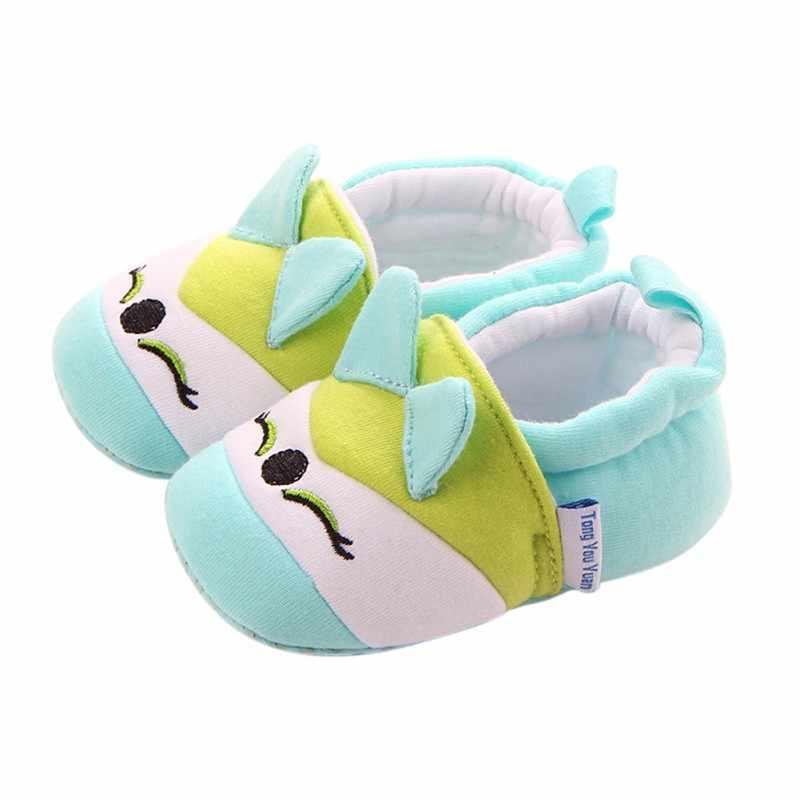 Kinderen Thuis Slippers Baby Verdikking Warme Indoor Schoenen Jongens Meisjes Leuke Cartoon Schoenen Kinderen Katoenen Schoenen