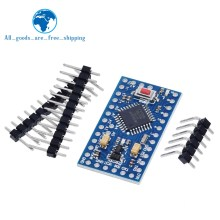 1 pces pro mini atmega328p pro mini 328 mini atmega328 3.3v 8mhz 5v 16mhz para arduino compatível nano cp2102 ft232rl