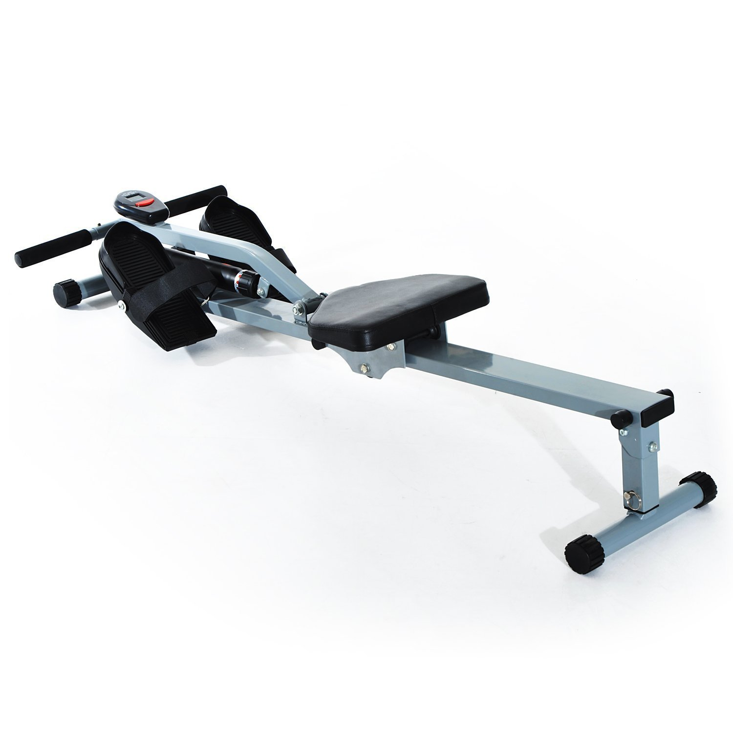 Professional HOMCOM Rowing Machine Home Fitness Workout With Display 130x67.5x67 Cm