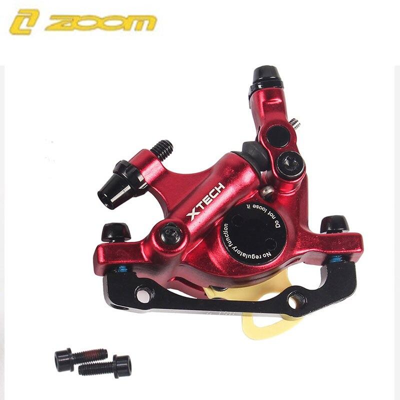 MTB Road HB-100 MTB Road Line Тяговая гидравлическая Дисковая тормозная штангенциркуль передний и задний дисковый тормоз горного велосипеда E-BIKE дисковый тормоз - Цвет: 1 Pcs Red Front