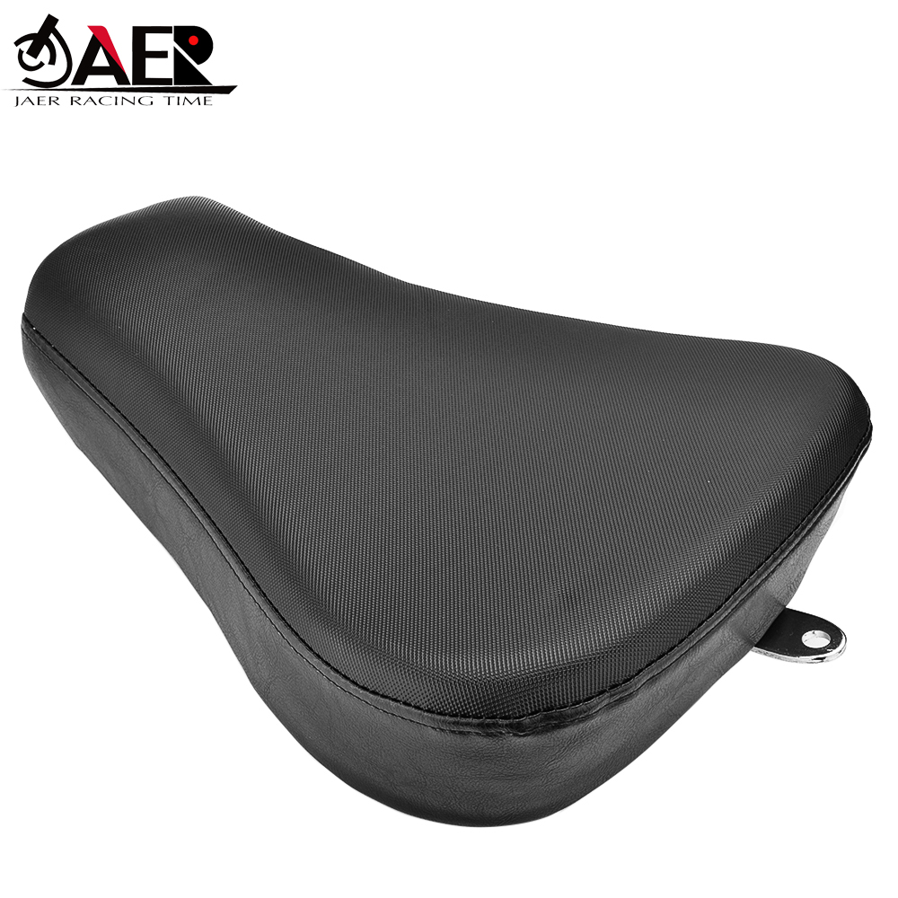 JAER Front Driver Solo Seat Cushion Pad For Harley Forty Eight XL1200X Iron 883 Sportster 1200 XR1200 883 XL'48 1200X