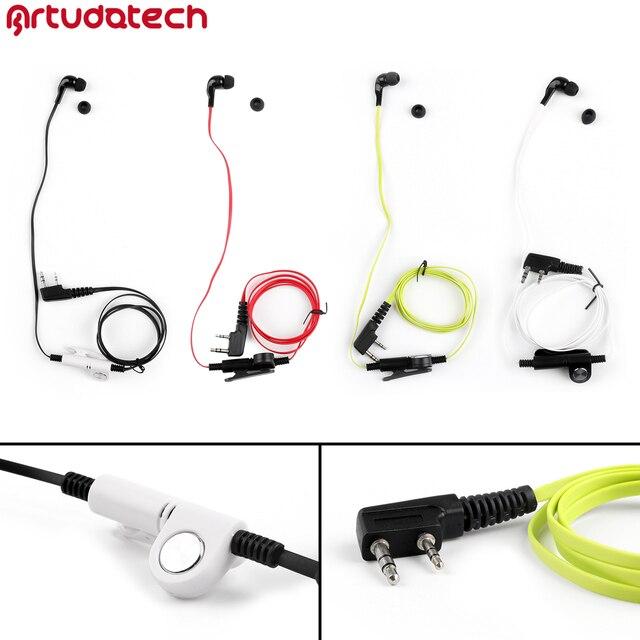 BaoFENG auricular para Kenwood TH F6, TH F7, BF888S, UV 5R, UV5R, QUANSHENG, TG K4AT, accesorios de Radio de dos vías