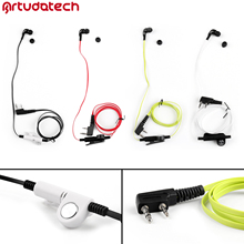 Headset Earpiece For Kenwood TH F6 TH F7 BaoFENG BF888S UV 5R UV5R QUANSHENG TG K4AT TG 45AT Two Way Radio Accessories