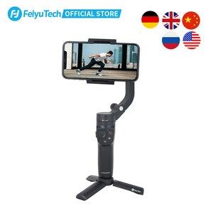 Image 3 - FeiyuTech الرسمية VLOG جيب 2 البسيطة المحمولة الهاتف الذكي Gimbal استقرار selfie عصا ل فون 11 XS XR 8 7 ، هواوي P30 برو