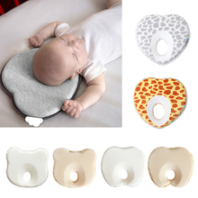 Positioner-Cushion Pillow-Shape Baby-Bedding Flat-Head-Protect Anti-Roll Newborn Toddler