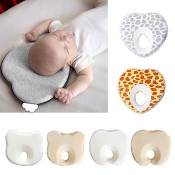 کودک بالشتک ضد رول بالش شکل بالش بالشتک خواب موقعیت بالش سر صاف محافظت از نوزاد