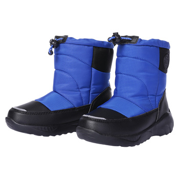 fashion 1pair winter warm waterproof snow boots comfortable children shoes kid boy girl non slip cotton padde boots SKHEK Girls Snow Boots Winter Waterproof Warm Shoes Mid-claf Anti-slip Rubber Fashion Boots for Big Girl Outdoor Children Snow B