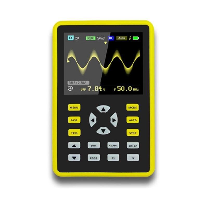 "2.4\"" LCD Display Handheld Digital Oscilloscope Kit 100mhz Bandwidth 500MS/s Rate"""