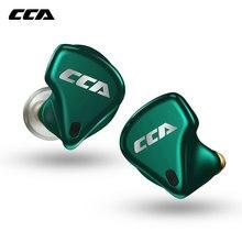 Cca CX10 4BA + 1DD Tws Echte Draadloze Bluetooth 5.0 In-Ear Eaephones Gaming Sporting Hifi Headset Subwoofer Oordopjes voor CX4 S1 S2