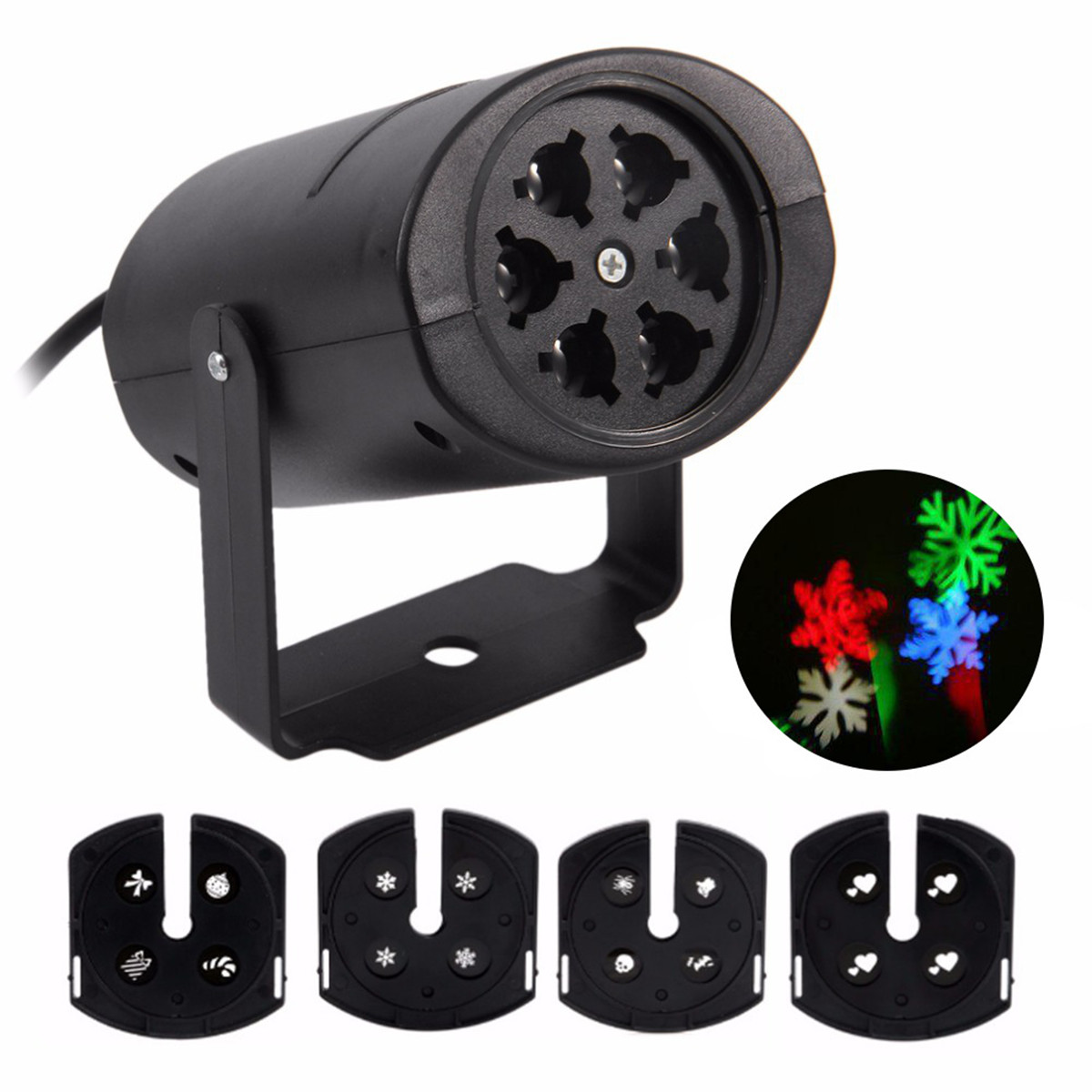LED Projector Outdoor LED Moving Landscape Lamp Waterproof Disco Karaoke Lights Decorations Christmas Halloween