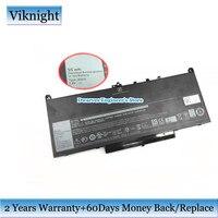 Genuine WYWJ2 F1KTM 0F1KTM 242WD 0MC34Y 7.6v 55wh bateria para Dell Latitude 12 14 E7270 E7470 Latitude E7260 bateria do portátil