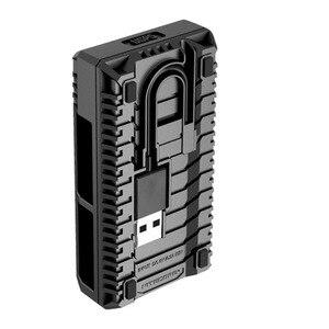 Image 3 - Nitecore ugp5 para gopro hero 5 preto usb duplo slots carregador para gopro hero 5 gopro herói 6 gopro herói 7 bateria preta