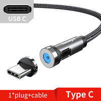 Grey Type C Cable