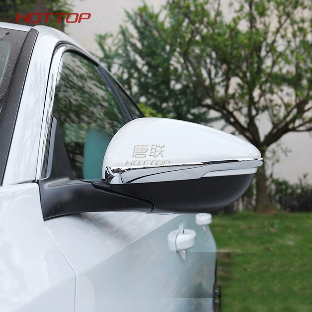 Chrome ABS Side Door Wing Rearview Mirror Cover Trim For Honda Accord 2018