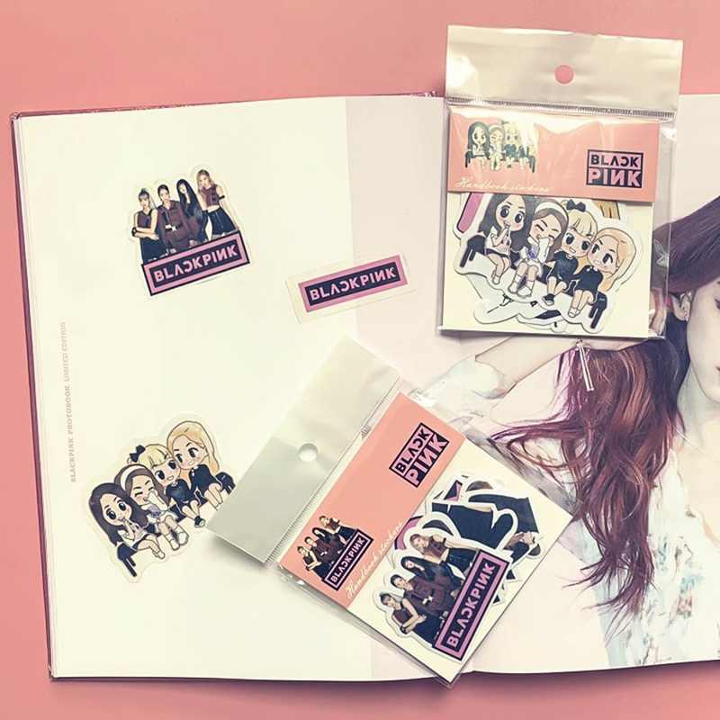 EXO Kpop Estrela BLACKPINK GOT7 DUAS VEZES Decalque Adesivos Scrapbook Álbum Diário Decoração Papelaria Material Escolar Presentes de Fãs