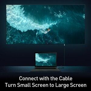 Image 5 - Baseus dp do hdmi kabel 4K z męskiego na męskie port wyświetlacza displayport do hdmi adapter do kabla do projektora PS4 PC konwerter hdtv przewód