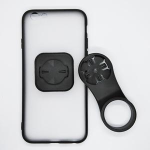 Image 3 - Support de support de téléphone portable de bicyclette de chapeau de tige avec le support de téléphone de vélo de boîtier de PC TPU pour liphone 6/6S/7/7 plus/8/8 Plus/11 Pro/12