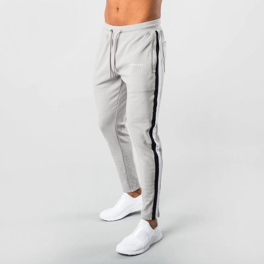 ALPHALETE Brand Men Jogging Pants Gyms Training Pants Sportswear Joggers Sporting Pants Men's Running  Jogging Sweatpants