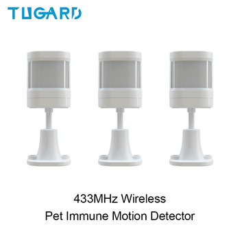New P20 433MHz Wireless Anti-pet Infrared Detector Indoor PIR Motion Detector&Sensor for WIFI GSM Home Security Alarm System meisort 433mhz 315mhz optional wireless infrared detector pir motion sensor detector for gsm pstn auto dial home alarm system