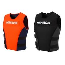 Adults Life Jacket Neoprene Safety Vest for Water Ski Wakeboard Swimming Jackets Zwemvest Kinderen Puddle Jumper