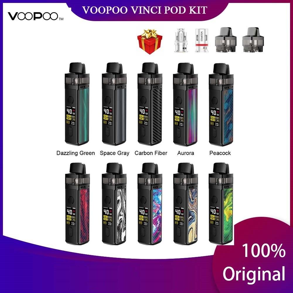 Kit de Vape e-cig avec batterie 1500mAh et dosette 5.5ml et écran couleur TFT 0.96 pouces Vs glisser Nano/Shogun