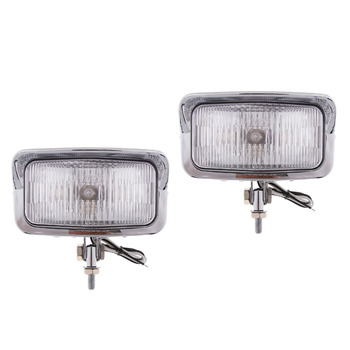 2 Pieces 55W Super Bright Motorcycle Headlight Headlamp Front Lamp for HONDA