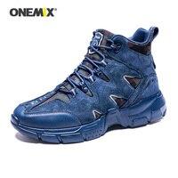 Onemix Mannen Wandelschoenen Waterafstotend Met Antislip Outdoor Mannen Sportschoenen Lichtgewicht Klimmen Vissen Trekking Schoenen