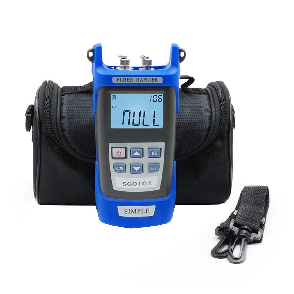 Handheld Visual Fault Locator and OTDR Optical Fiber Breakpoint Detector to Test Fault Location
