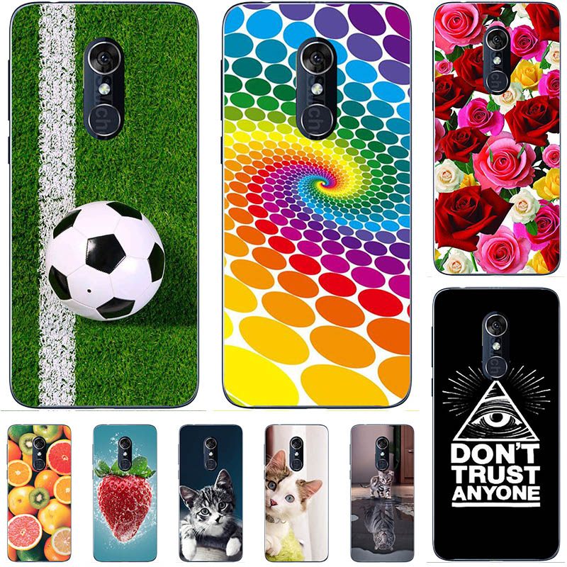 Soft TPU Cover For <font><b>Alcatel</b></font> 3L 2019 <font><b>5039D</b></font> Case For <font><b>Alcatel</b></font> 3L 5034D 3 L 2020 Cute Lovely Cartoon Coque Capa image
