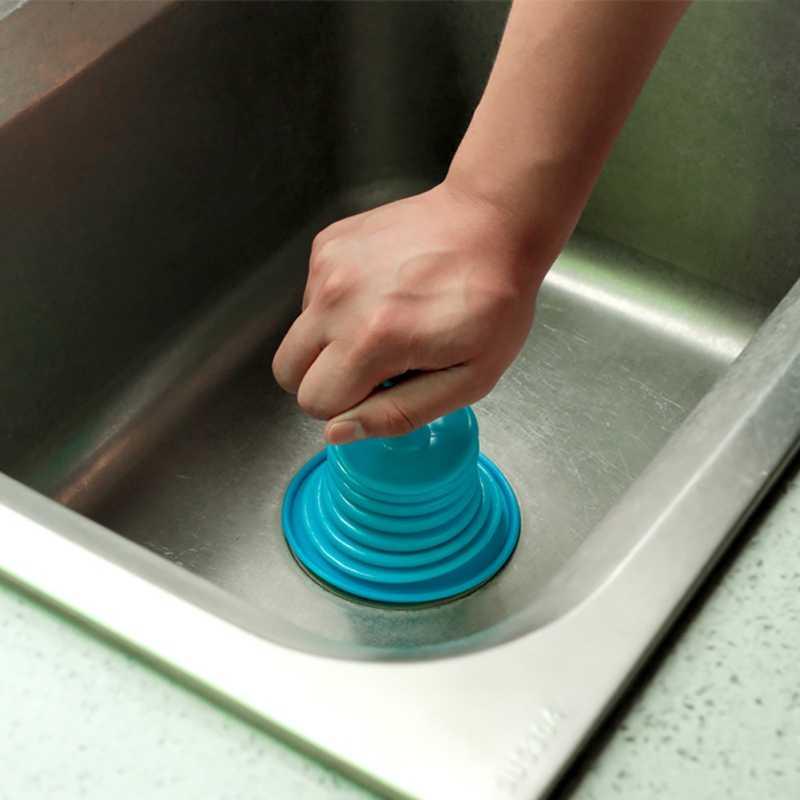 Бытовой практичный Многофункциональный прочный Одноцветный трубный дренажный вакуумный держатель на присоске для раковины аксессуары для ванной комнаты портативный