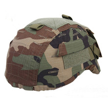 Helmet-Cover Emerson Mich 2001 Tactical Headwear Hunting ACH with Hook-Loop EM1810 Camo
