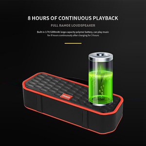 Image 5 - Portable Bluetooth 5.0 Speakers Bass Sound Outdoor Wireless Loudspeaker Support TF Card FM Handsfree Call 1200mAh Subwoofer
