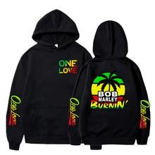Winter Hoodies Sweatshirts Bob Marley Print Hoodie Long Sleeve Streetwear Hip Hop Reggae Music Harajuku Clothes Hoodie Womens