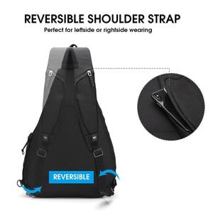"Image 3 - OIWAS Womens Sling Shoulder Bag 18L Work Travel Fashion Corssbody Bag For 12"" Laptop Neutral Teens Students School University"