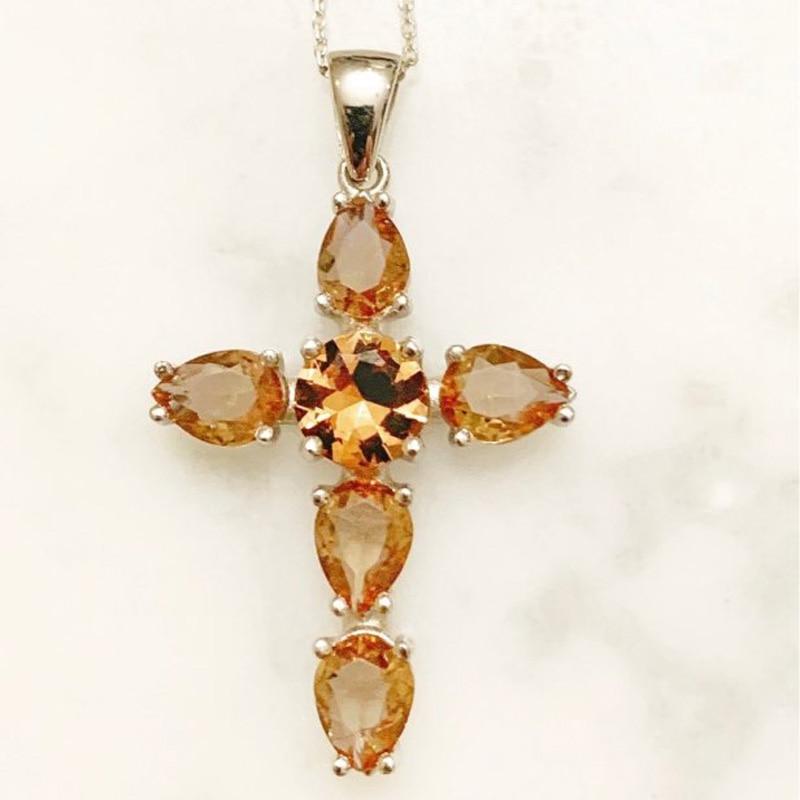 Купить женское ожерелье с подвеской ffgem big stone zultanite серебряное