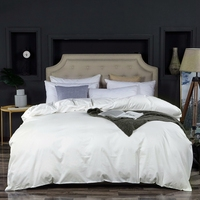 20 Solid Colors 100% Egyptian Cotton Duvet Cover Bed Cover Long Staple Cotton Satin Bedclothes Twin Full Queen King size 1 pcs