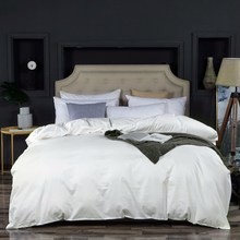 20 Solid Colors 100% Egyptian Cotton Duvet Cover Bed Cover Long Staple Cotton Satin Bedclothes Twin Full Queen King size 1 pcs(China)