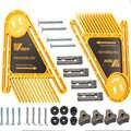 Leokk planche à plumes multi-usages Featherboards pour scies à Table scies à ruban routeur Tables clôtures outils jauge à onglet fente travail du bois