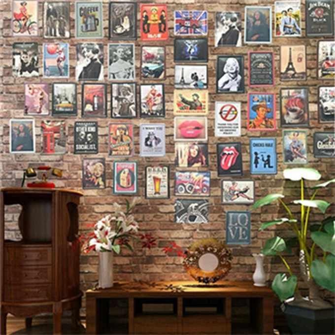 Потертый шик доска металлический винтажный знак фермерский дом домашний Декор для баров кафе
