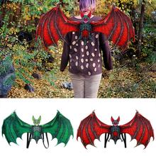 Non-woven Fabric Adult Child Bat Wings Mask Costumes Wicked Horror Party Supplies Halloween Decoration