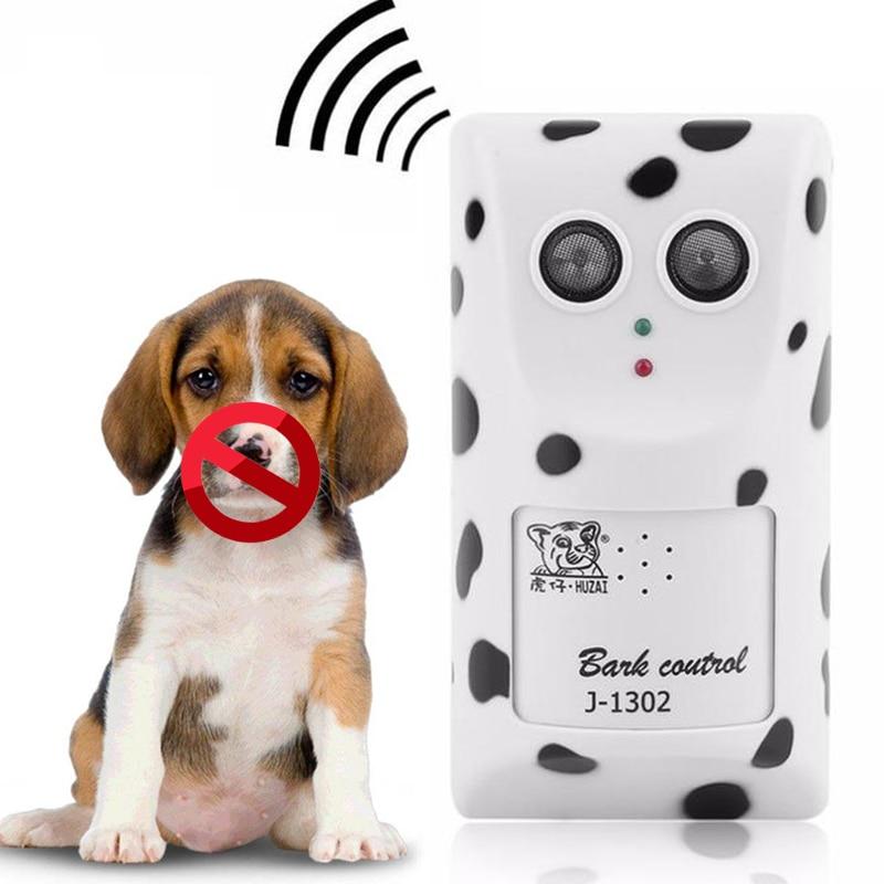 Dog Anti Bark Training Device Ultrasonic Dog Repeller Trainer Training Equipment Dog Anit Barking Training Clicker