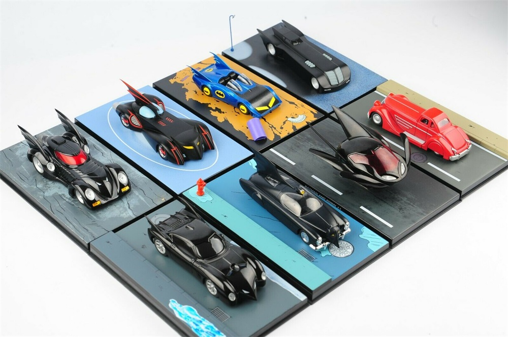 1:43 Diecast Allory Car Model Detective Comics Batmobile Batman Vehicles Toy