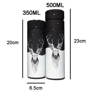 Image 2 - 350 500ML מבודד תרמוס בקבוק ואקום נירוסטה לשמור Thermo ספל תרמוס כוס Thermocup תרמית בקבוק עם תה מסננת