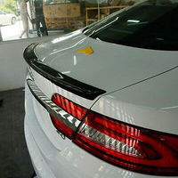 For Jaguar XF Carbon Fiber Rear Trunk Lip Spoiler Wing 2009-2015