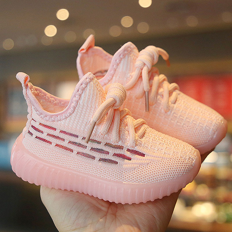 New Children Shoes Casual Toddler Infant Kids Baby Boys Girls Breathable Sport Running Shoes Sneakers Soft Children's Shoes