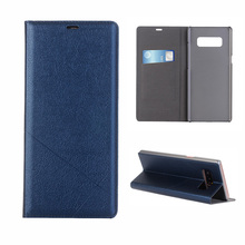 FDCWTS Flip Cover Leather Case For Samsung Galaxy S6 S6 edge S7 S7 edge S8 S8 Plus Note8 S9 S9Plus Note9 Wallet Flip leather